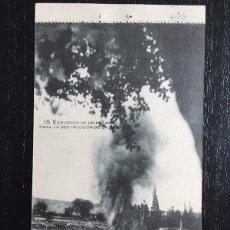 Postales: ANTIGUA POSTAL EXPLOSION DE UN PETARDO PARA LA DESTRUCCION DE UN VADO , MILITAR, MILITARES. Lote 56192025