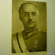 Postales: TARJETA POSTAL EL CAUDILLO --FRANCO FOTO JALON NGEL BB. Lote 57017299