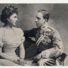Postales: POSTAL ANTIGUA. SS.MM. D. ALFONSO XIII Y Dª VICTORIA EUGENIA. REYES DE ESPAÑA.. Lote 57090501