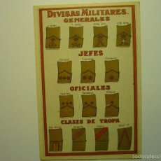 Postales: POSTAL HISTORIA GRAFICA DEL SIGLO XX-DIVISAS MILITARES. Lote 57506337