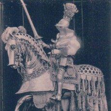 Postales: POSTAL REAL ARMERIA I, SERIE 4.- ARNES DE JUSTA ECUESTRE DE CARLOS V (1520) HAUSER Y MENET. Lote 57865831