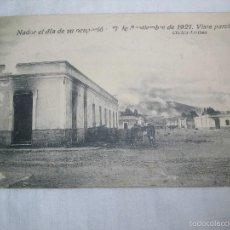 Postales: NADOR EL DIA DE SU OCUPACION 17 DE SEPTIEMBRE DE 1921 VISTA PARCIAL.CLICHES ARRIBAS. Lote 57927084