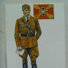 Postales: GUERRA CIVIL : AVIACION NACIONAL : TENIENTE ALEMAN LEGION CONDOR , PARADA, 1937-39 ... DE ABELLAN. Lote 60659983