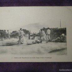 Postales: POSTAL - GUERRA DEL RIF - BATERIA DEL HIPÓDROMO HACIENDO FUEGO CONTRA EL ENEMIGO - AÑO 1909 -. Lote 61190751