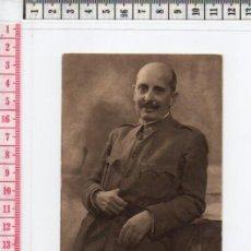 Postales: 23.57 POSTAL BLANCO Y NEGRO, FOTOGRAFÍA DEL GENERAL DAVILA, GUERRA CIVIL ESPAÑOLA. Lote 61840068