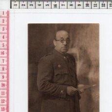 Postales: 23.57 POSTAL BLANCO Y NEGRO, FOTOGRAFÍA DEL GENERAL MOSCARDO, GUERRA CIVIL ESPAÑOLA. Lote 61840208