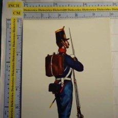 Postales: POSTAL MILITAR UNIFORMES ESPAÑOLES. AÑO 1970. EDUFRANC CARLO. REGIMIENTO DEL REY 1 1848. 665. Lote 64892379