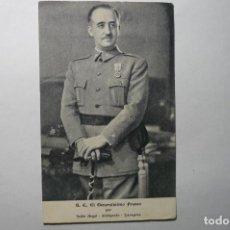 Postales: POSTAL S.E.EL GENERALISIMO FRANCO -JALON ANGEL-FOTOGRAFO BB. Lote 67187273