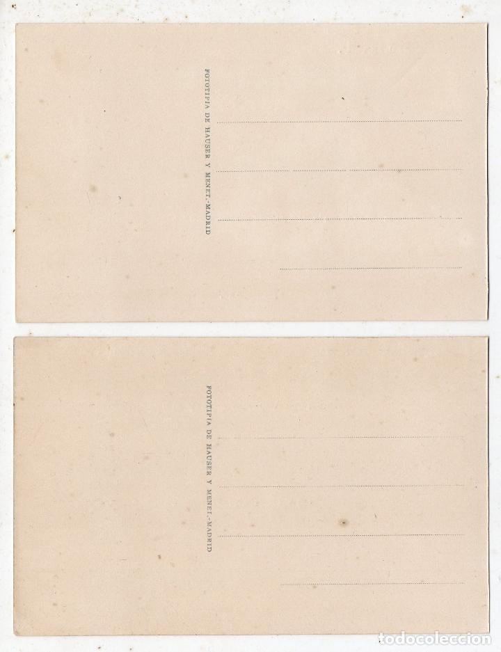 Postales: Lote de 2 Postales de la Real Armería de Madrid. Arcabuces, Pistolas y Maza de armas.. - Foto 2 - 67515505