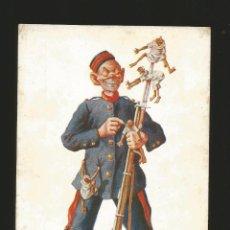 Postales: SOLDADO DE AFRICA INFANTERIA 1921 MILITAR SOLDADOS - POSTAL MILITAR. Lote 72444599
