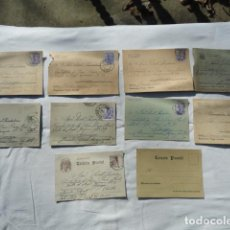 Postales: 10 POSTALES ARRIBA ESPAÑA SALUDO A FRANCO. AÑOS 40.. Lote 73592179