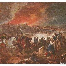 Postales: BATALLA DE SMOLENSK DE 1812 TROPAS RUSAS Y FRANCESAS - POSTAL ANTIGUA. Lote 73703783