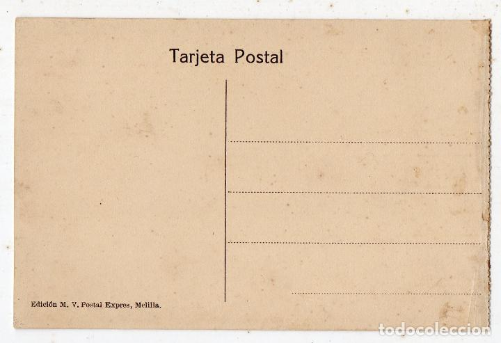 Postales: Campaña del Rif. Año 1921. Irgueman. Prisioneros cogidos al tirotear desde una casa. - Foto 2 - 73884489