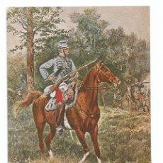 Postales: CAZADOR A CABALLO EJERCITO FRANCÉS - POSTAL MILITAR SOLDADO. Lote 74231943