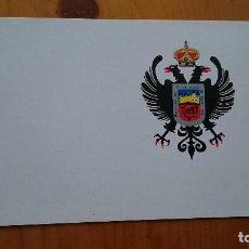 Postales: TARJETA DOBLE HOJA SIN DIVISIONES REGIMIENTO DE CARROS ALCÁZAR DE TOLEDO N 61 - FOTO INTERIOR . Lote 78031949