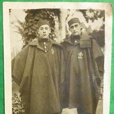 Postales: SOLDADOS - MELILLA (GUERRA DEL RIF - MARRUECOS) - POSTAL FOTOGRÁFICA DE DOS SOLDADOS - AÑO 1925. Lote 80310537