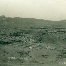 Postales: MARRUECOS. CAMPAMENTO DE TAFERSIT. BUHAFORA. HACIA 1920. FOTOGRÁFICA. Lote 81689196