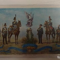 Postales: CENTENARIO DELL'ARMA DEI CARABINIERI REALI 1814-1914 ROMA 1914. Lote 83100868