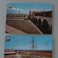 Postales: ANTIGUAS POSTALES SAN FERNANADO (CADIZ): CUARTEL DE INSTRUCCIÓN DE MARINERIA - AÑOS 60 - MILITAR. Lote 84438252