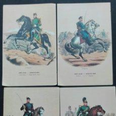 Postales: LOTE 4 POSTALES DE LA ARMADA SUIZA. Lote 88798758