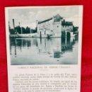 Postales: FABRICA NACIONAL DE ARMAS TOLEDO POSTAL PALOMEQUE ANUNCIO ESPECIAL DESCRIPCION DE LA FABRICA. Lote 88879772
