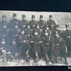 Postales: MILITAR POSTAL SOLDADOS 1921 . Lote 89090100
