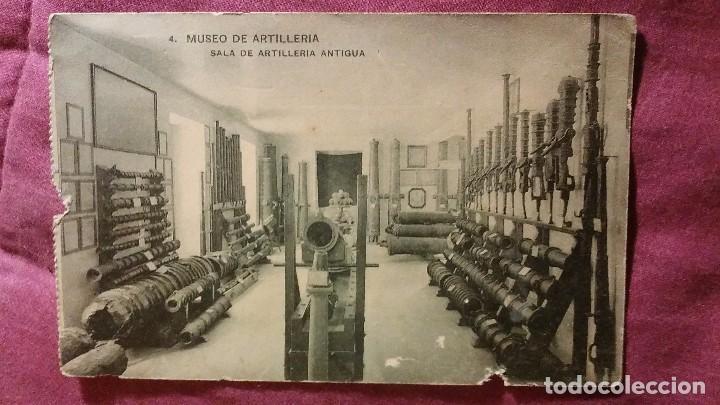 MUSEO DE ARTILLERÍA - 4 - SALA DE RTILLERIA ANTIGUA (Postales - Postales Temáticas - Militares)