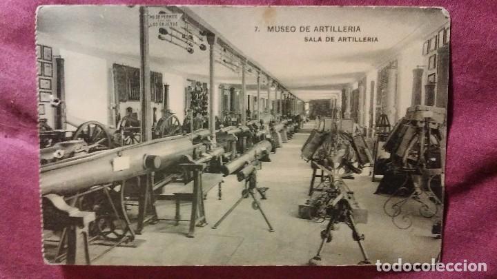 MUSEO DE ARTILLERÍA - 7 - SALA DE ARTILLERIA (Postales - Postales Temáticas - Militares)