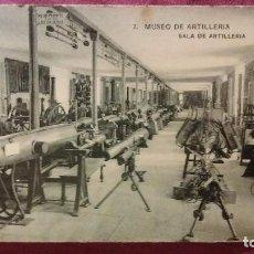 Postales: MUSEO DE ARTILLERÍA - 7 - SALA DE ARTILLERIA . Lote 91513140