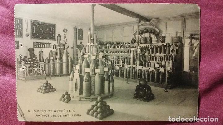 MUSEO DE ARTILLERÍA - 8 - PROYECTÍLES DE ARTILLERÍA (Postales - Postales Temáticas - Militares)
