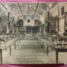 Postales: MUSEO DE ARTILLERÍA - 12 - SALÓN DE REINOS ( MODELOS ). Lote 91513530