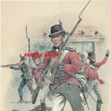 Postales: ROYAL MARINES AT THE CAPTURE OF OSWEGO 1814 .- Nº 72 STADDEN UNIFORM CARD. Lote 92205980