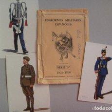 Postales: LOTE DE 3 POSTALES REINADO ALFONSO XIII Y SU SOBRE ORIGINAL. DE DELFIN SALAS.. Lote 95246735