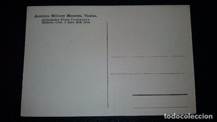 Postales: POSTAL MUSEO MILITAR VIENA, AUSTRIA - Foto 2 - 95861191