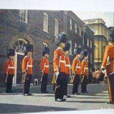 Postales: `POSTAL EXTRANJERA LONDON IRISH GUARDS --ESCRITA. Lote 96894015