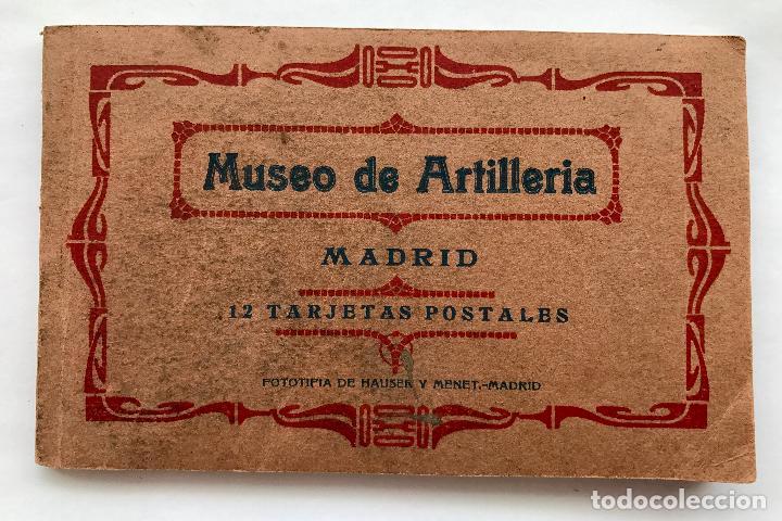 MUSEO DE ARTILLERIA DE MADRID (Postales - Postales Temáticas - Militares)