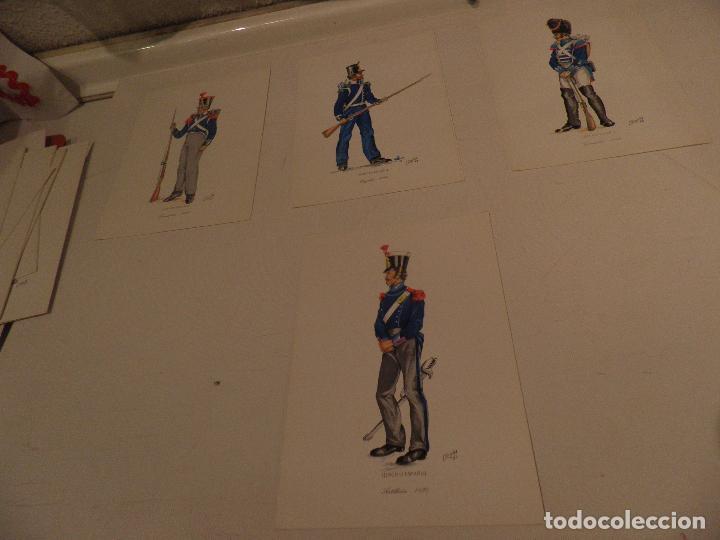 Postales: LOTE 16 POSTALES UNIFORMES MILITARES , AÑO 1969, SERVICIO GEOGRAFICO DEL EJERCITO - Foto 4 - 98031607