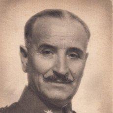 Postales: POSTAL: GENERAL QUEIPO DE LLANO - JALON ANGEL. Lote 124652915