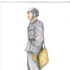 Postales: -67224 POSTAL TENIENTE, UNIFORMES ALEMANES DEL III REICH ( 1933-45 ) Nº 11, NORUEGA, 1940. Lote 100690707