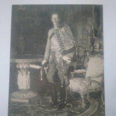Postales: S. M. EL REY DE. ALFONSO XIII. A .PARDIÑAS PINS. HAUSER Y MENET. Lote 102353683