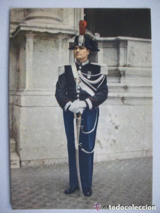POSTAL DE EL VATICANO . ITALIA : GENDARMERIA PONTIFICIA UNIFORME DE GALA (Postales - Postales Temáticas - Militares)