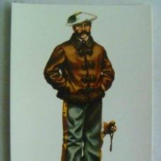 Postales: GUERRA CARLISTA : GENERAL CON UNIFORME DE CAMPAÑA ( 1833-1868 ) . DE DELFIN SALAS.. Lote 103777727