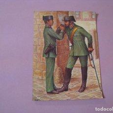 Postales: POSTAL. GUARDIA CIVIL EN 1911. SIN CIRCULAR.. Lote 104643887