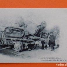 Postales: POSTAL CURSO MAYO - DICIEMBRE 1922, PRACTICAS GENERALES, UN CARRO DE ASALTO...R-7815. Lote 105425563