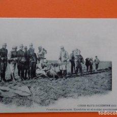 Postales: POSTAL CURSO MAYO - DICIEMBRE 1922, EJERCICIOS EN EL CAMPO PROVISIONAL DE TIRO...R-7817. Lote 105426283