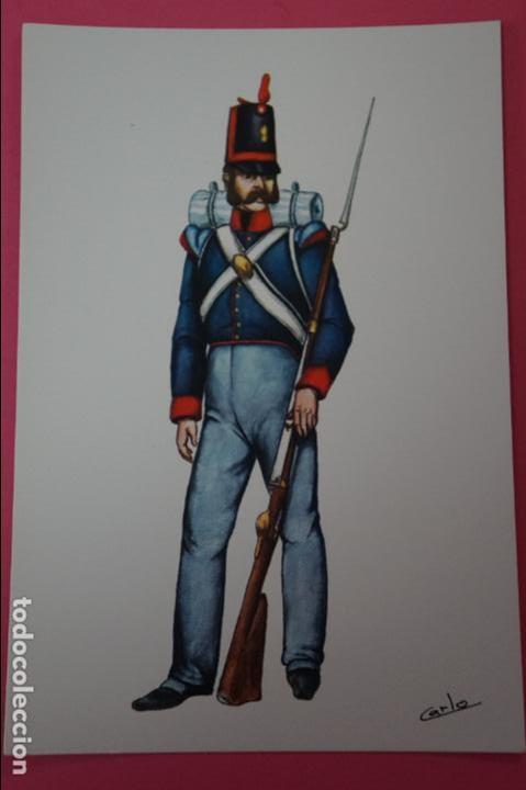 POSTAL SIN CIRCULAR DE SOLDADO DE INFANTERIA EXTRANJERA LOTE 1 (Postales - Postales Temáticas - Militares)