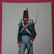 Postales: POSTAL SIN CIRCULAR DE SOLDADO DE INFANTERIA EXTRANJERA LOTE 1. Lote 105804171