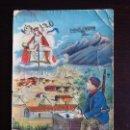Postales: POSTAL DE RECUERDO DE LA GUERRA DE AFRICA, CAZADORES DE AFRICA, GUERRA DEL RIF, AVIACION, REALMENTE. Lote 106078387