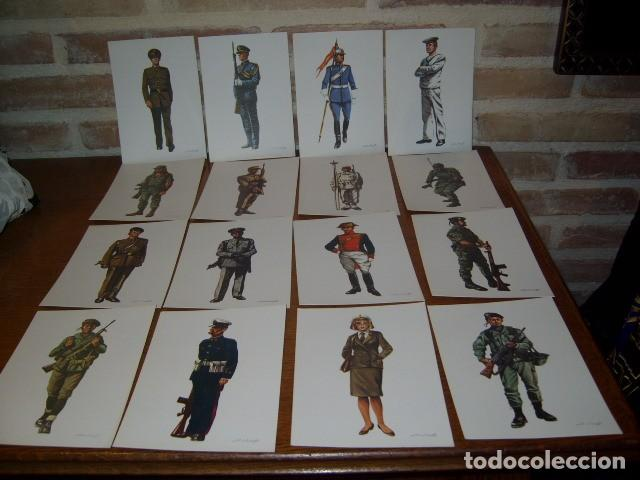 Postales: POSTAL MILITAR,LOTE DE 31 POSTALES MILITARES DE COLECCION,SALAS. - Foto 2 - 107327979