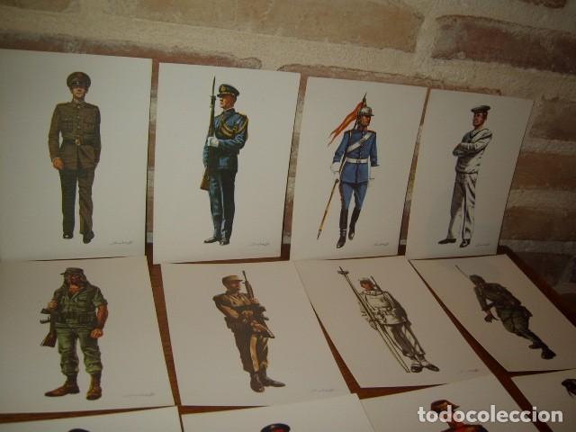 Postales: POSTAL MILITAR,LOTE DE 31 POSTALES MILITARES DE COLECCION,SALAS. - Foto 3 - 107327979